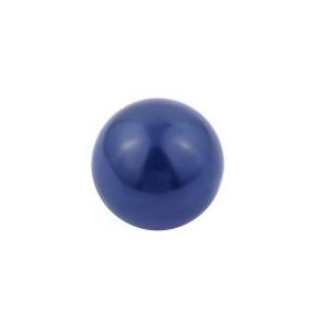 donkerblauwe klankbol